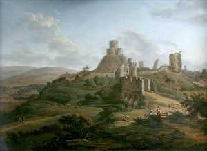 Hendrik Frans De Cort - Launceston Castle