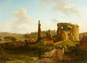 Hendrik Frans De Cort - The Gnoll and Castle, Nea..