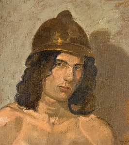 Yiannis Tsaroychis - Young man with helmet (Po..