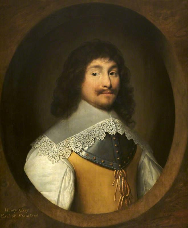 Henry Grey, 1st Earl of Stamford, 1638 by Cornelis Jonson Van Ceulen (1593-1661, United Kingdom) | Museum Art Reproductions | ArtsDot.com