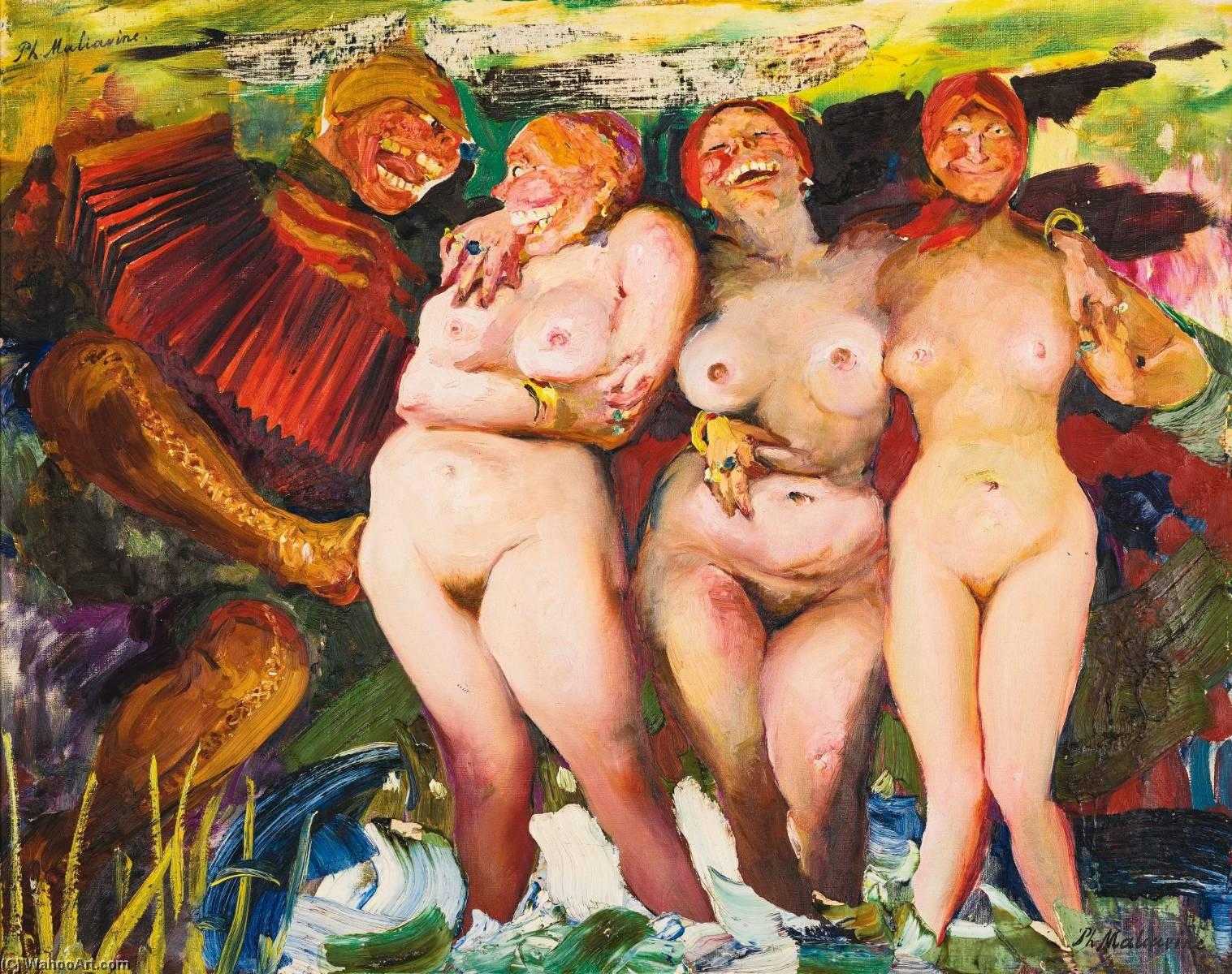 картины пышных женщин в бане времяпровождение