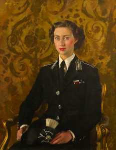 Henry Marvell Carr - HRH Princess Margaret (19..