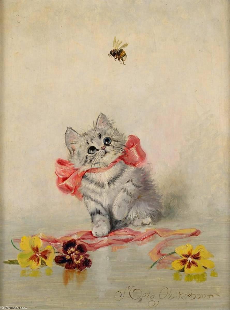 Открытка с котенок, открытки поздравительные днем