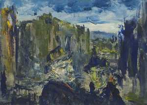 Jack Butler Yeats - The Nights are Closing In