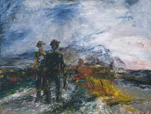 Jack Butler Yeats - The Two Travellers