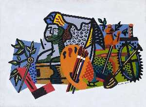 Stuart Davis - Composition