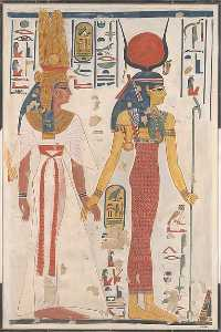 Charles K Wilkinson - Queen Nefertari being led..