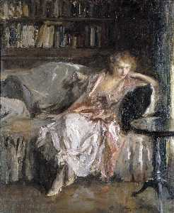 Irving Ramsey Wiles - Her Leisure Hour