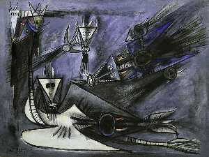 Wifredo Lam - The Dream