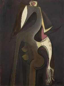 Wifredo Lam - Siren of the Niger