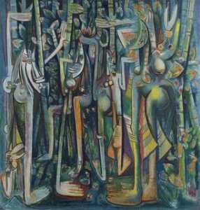 Wifredo Lam - The Jungle