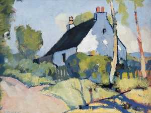 George Telfer Bear - The White Cottage