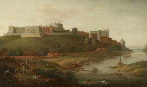 Robert Griffier - Windsor Castle from the R..