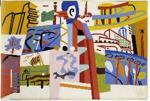Stuart Davis - Impression of the New Yor..