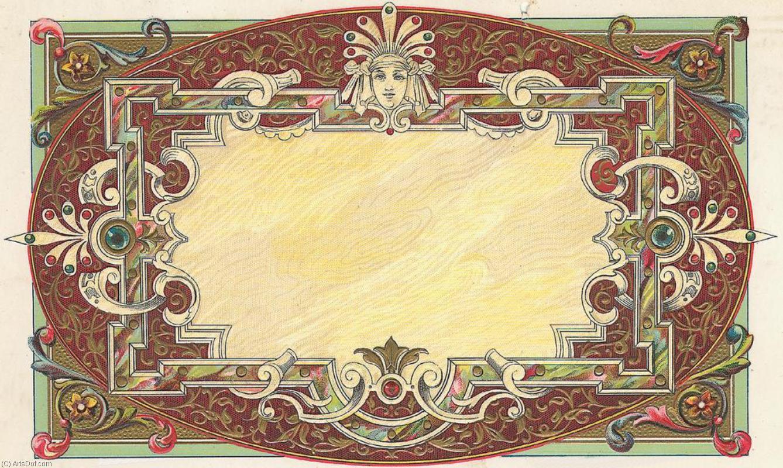 Мерцающие, открытка в средневековом стиле