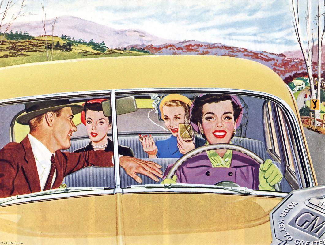 Смешные картинки про попутчицу в машине