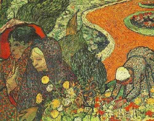 Memory Of The Garden At Etten Oil By Vincent Van Gogh 1853 1890 Netherlands