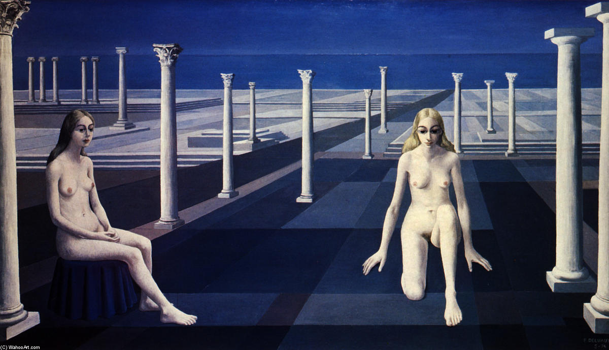 Resultado de imagen para Paul Delvaux (1897-1994)
