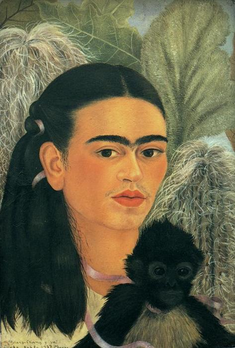 fulang chang und i l von frida kahlo 1907 1954 mexico. Black Bedroom Furniture Sets. Home Design Ideas