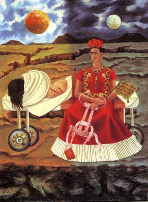 baum von hoffnung l von frida kahlo 1907 1954 mexico. Black Bedroom Furniture Sets. Home Design Ideas