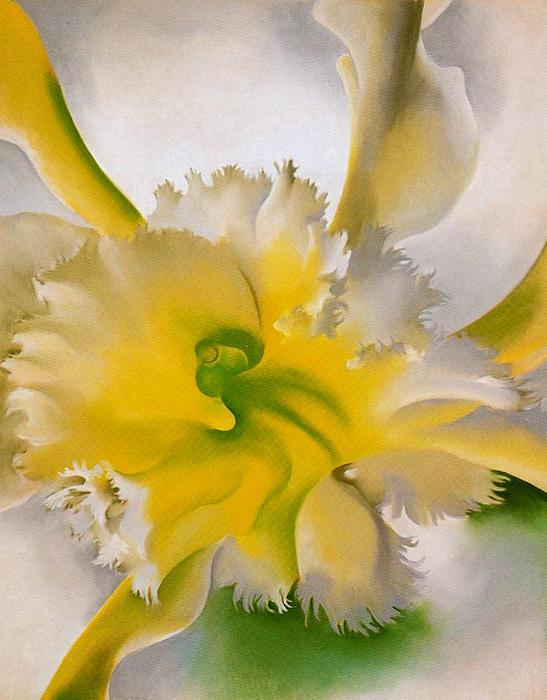 Un orchidea di georgia o 39 keeffe 1887 1986 united states for Georgia o keeffe opere