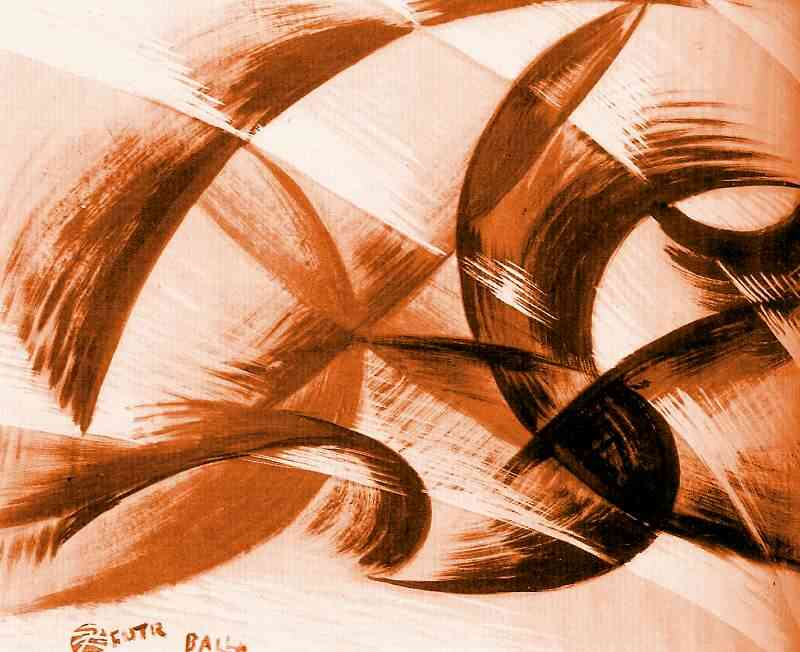 Synthesis of movement, 1914 by Giacomo Balla (1871-1958 ...