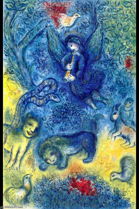 marc chagal essay I and the village is a narrative self-portrait featuring memories of marc chagall's childhood in the town of vitebsk, in russia the dreamy painting is ripe with.