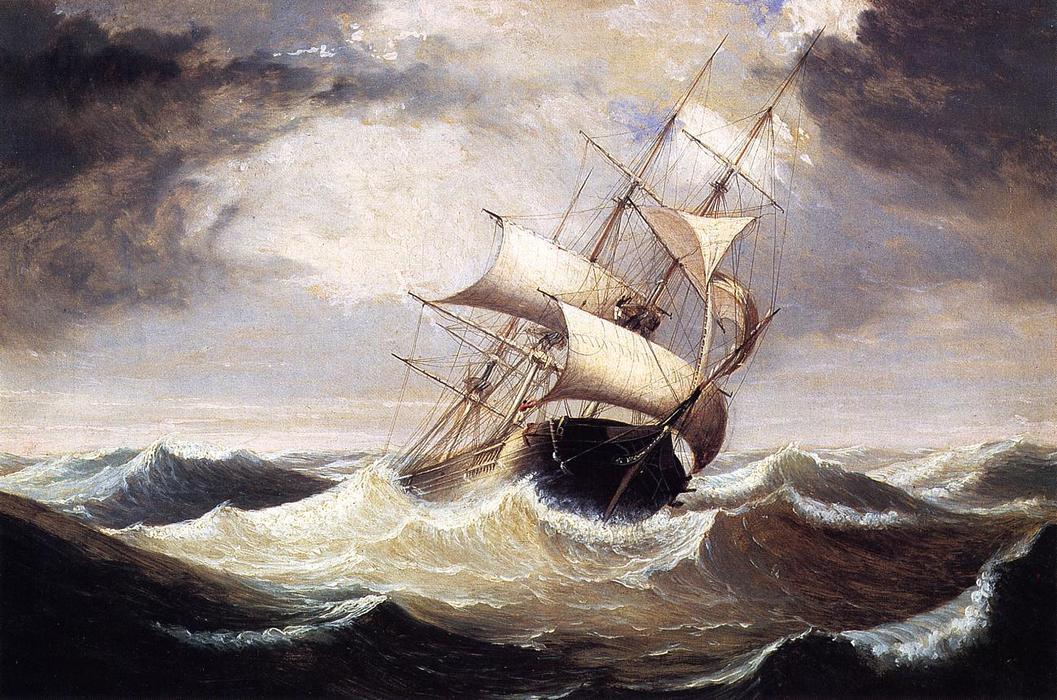 Resultado de imagem para barco em mar revolto