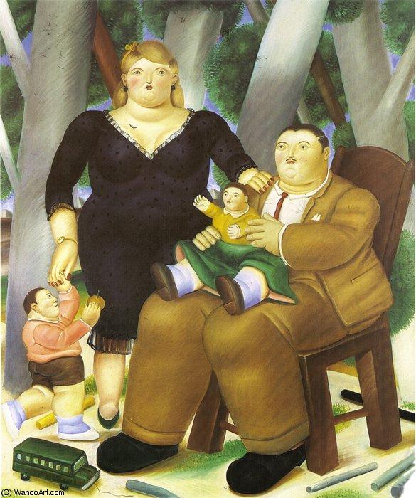 Groupe De Famille De Fernando Botero Angulo 1932 1959