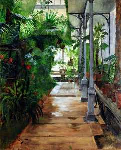 Hugo Birger - From the Palm House in Go..